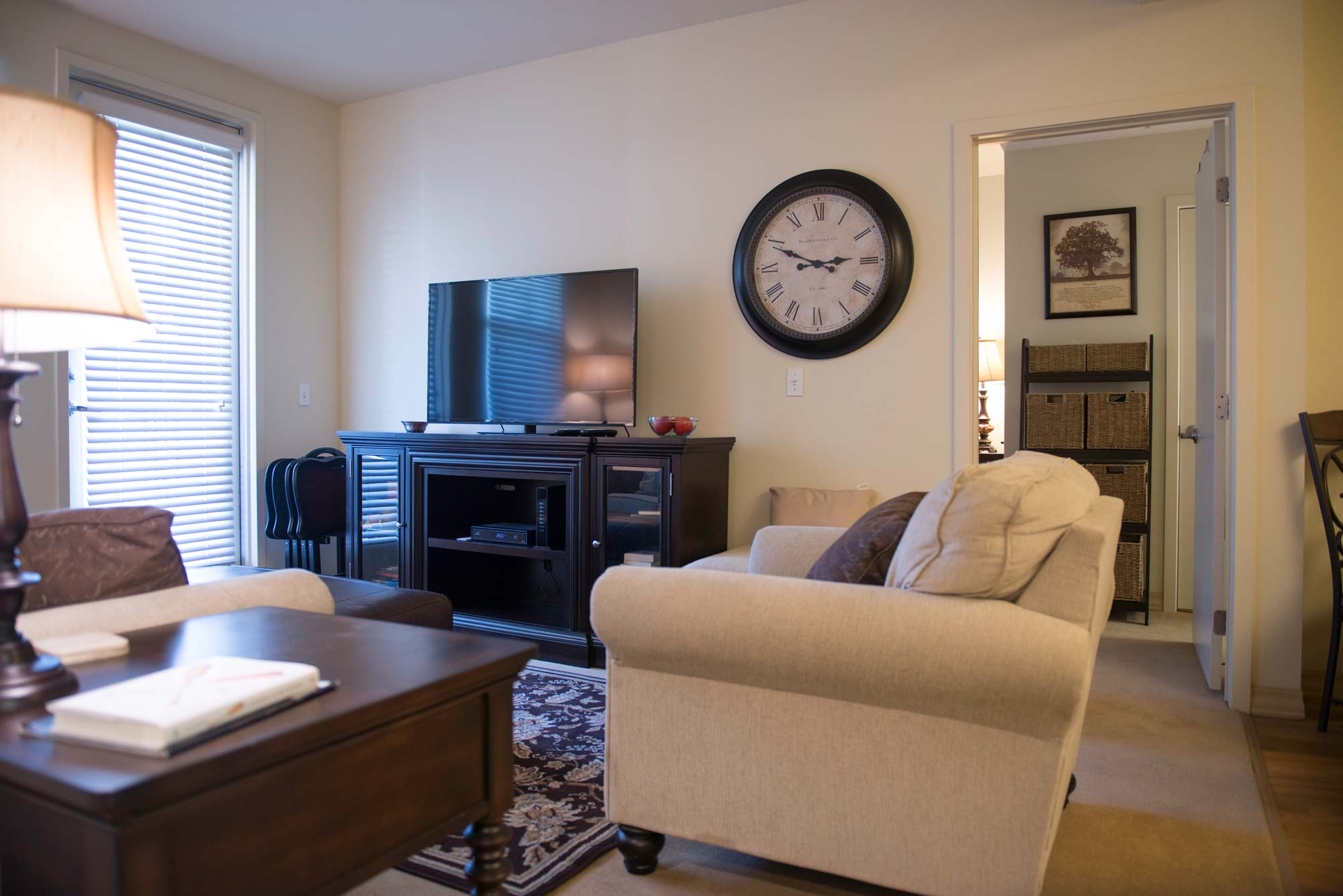 Carpeted living rooms   Parkview Living LA in Los Angeles CA